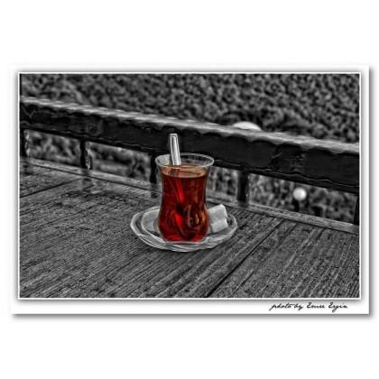 Αφίσα (ποτήρι, κόκκινο, μαύρο, λευκό, άσπρο)